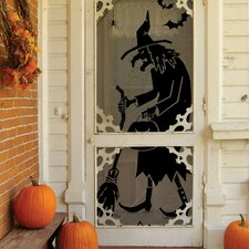 Witch Polyester Curtain Single Panel