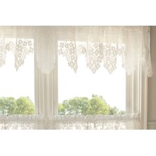 Dogwood Rod Pocket Scalloped Curtain Valance