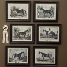 Grand Champion™ 6 Piece Horse Wall Art Set