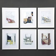 Dransfield Neutral Scenes Wall Art (Set of 6)