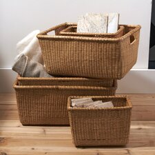 Surabaya Wicker Basket (Set of 5)
