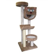 "66"" Bed, Cave and Cradle Cat Tree"