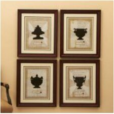 Franco Carrai Via Santo Spirito Framed Wall Art (Set of 4)