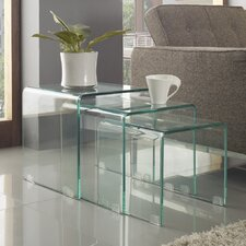 Cascade Nesting Coffee Table (Set of 3)