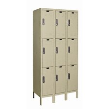 DigiTech Electronic Locker Triple Tier 3 Wide (Knock-Down)