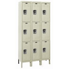 ReadyBuilt Three Wide Triple Tier Locker  (Assembled)