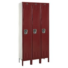 Premium 3-Wide Single Tier Locker (Unassembled)