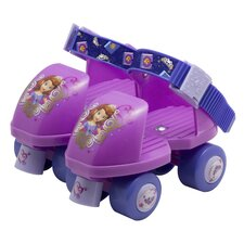 Disney Sophia The First Junior Rollerskate with Knee Pads