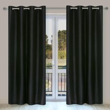 Silkana Grommet Curtain Panel Pair