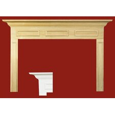 Litchfield II MDF Primed Fireplace Mantel Surround