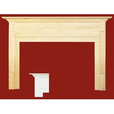 Newport MDF Primed Fireplace Mantel Surround
