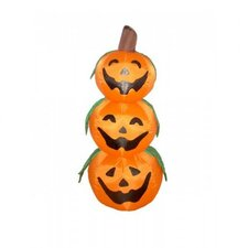 4' Halloween Inflatable 3 Pumpkins