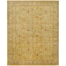 Dinar Design Gold, Hand-Knotted Rug