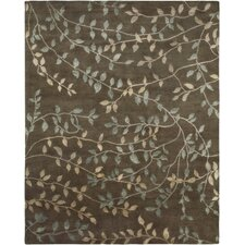Synergy Kuba Chocolate Rug