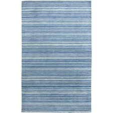 Marchena Design Royal Blue, Hand-Woven Rug