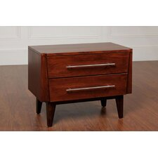 Green Bay Road 2 Drawer Nightstand