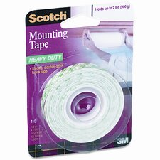 Foam Mounting Double-Sided Tape, 1/2 Wide x 75 Long