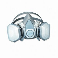 Dual Cartridge Respirator Assembly 52P71, Organic Vapor/P95, Medium