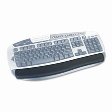 Gel Antimicrobial Thin Wrist Rest for Standard Keyboards