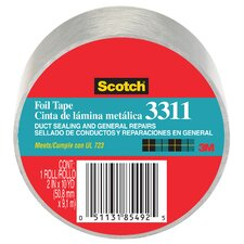 "2"" x 50 Yards Scotch Aluminum Foil Tape"