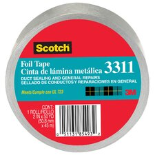 "2"" x 10 Yards Scotch Aluminum Foil Tape"