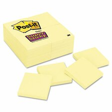 Post-it Notes Super Sticky Pad in Canary Yellow