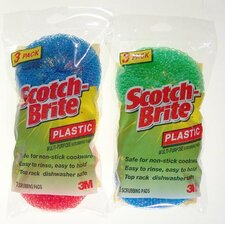 Scotch-Brite Multi-Purpose Plastic Scrubbing Pad
