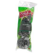 Scotch-Brite Stainless Steel Scouring Pad (3 Count)