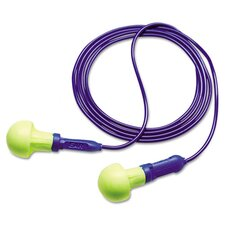 Push-Ins 28NRR Corded Earplugs