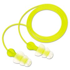 Tri-Flange NRR 26 Corded Earplugs