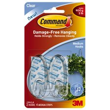 Clear Command Hooks (Set of 2)