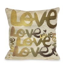 Oliver Gal Four Letter Word Pillow