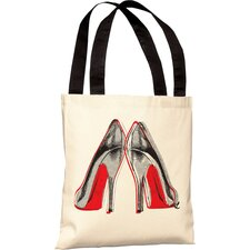 Oliver Gal Fire in Your New Shoes Polyester Tote Bag