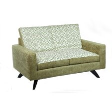 Luna Studio Loveseat with Reverse Cushion
