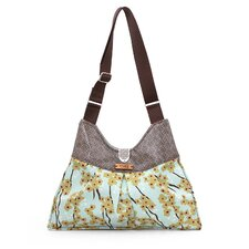Kennedy Flowering Pyrus Handbag in Cornflower