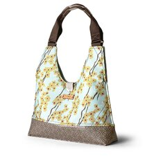 Reagan Flowering Pyrus Handbag in Cornflower