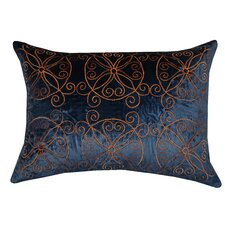 Medallion Velvet Pillow