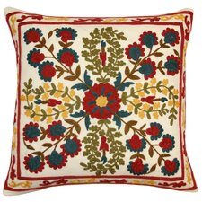 Suzani Cotton Embroidered Pillow