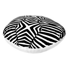 Animal Print Round Dog Bed