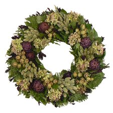 Purple Artichoke Heaven Wreath