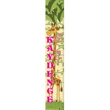 Giraffe Girl Growth Chart