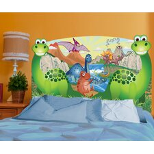 Peel and Stick Dino Panel Headboard