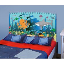 Peel and Stick Ocean Boy Panel Headboard