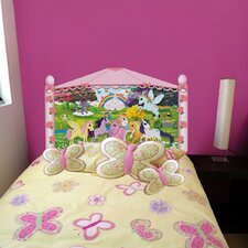 Peel and Stick Pony Panel Headboard