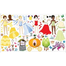 Peel and Play Wall Princess Play Set
