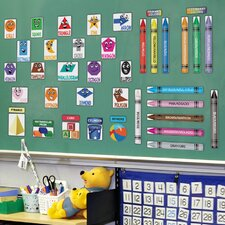 Peel and Learn Colors and Shapes Wall Stickers