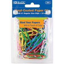 No.1 Regular (33mm) Paper Clip Set