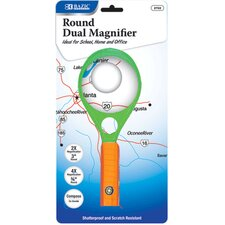 Handheld Magnifier with Compass