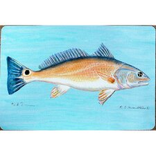 Coastal Red Drum Outdoor Wall Hanging