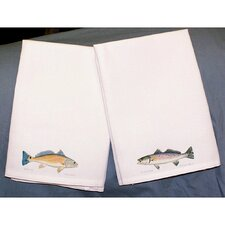 Coastal Red Drum Hand Towel